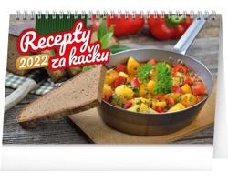 Stolní kalendář Recepty za kačku 2022