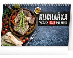 Stolní kalendář Kuchařka (ne)jen pro muže 2022
