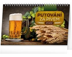 Stolní kalendář Putování za pivem 2022