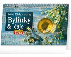Stolní kalendář Bylinky a čaje 2022