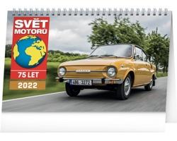 Stolní kalendář Svět motorů 2022