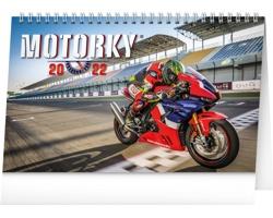 Stolní kalendář Motorky 2022