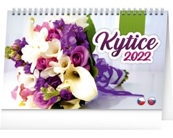Stolní kalendář Kytice 2022 - česko-slovenský