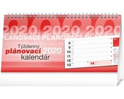 Stolní kalendář Plánovací riadkový 2020 - slovenský