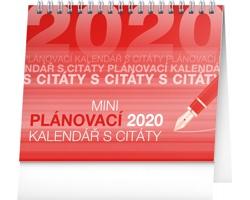 Stolní kalendář Plánovací s citáty 2020