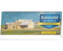 Stolní kalendář pro seniory 2020