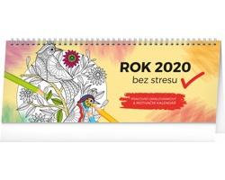 Stolní kalendář Rok bez stresu 2020