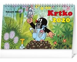 Stolní kalendář Krtko 2020 - slovenský
