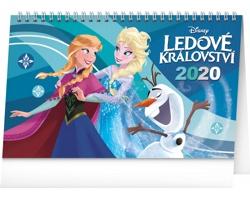 Stolní kalendář Frozen - Ledové království 2020