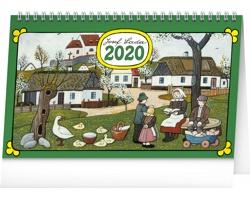 Stolní kalendář Josef Lada - Tradice a zvyky 2020