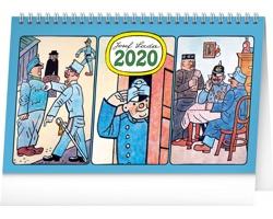 Stolní kalendář Josef Lada - Švejk 2020