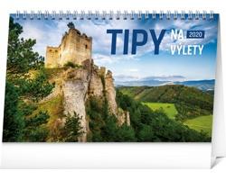 Stolní kalendář Tipy na výlety 2020 - slovenský