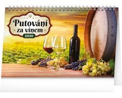 Stolní kalendář Putování za vínem 2020