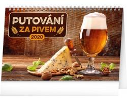 Stolní kalendář Putování za pivem 2020
