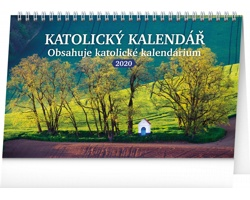 Stolní kalendář Katolický 2020