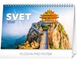 Stolní kalendář Svet 2020 - slovenský