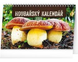 Stolní kalendář Houbařský 2020