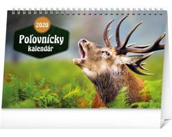 Stolní kalendář Poľovnícky kalendár 2020 - slovenský