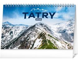 Stolní kalendář Tatry 2020 - slovenský