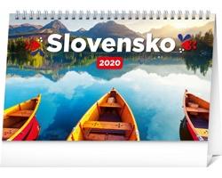 Stolní kalendář Slovensko 2020 - slovenský
