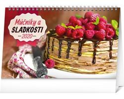 Stolní kalendář Múčniky a sladkosti 2020 - slovenský