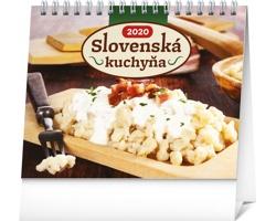 Stolní kalendář Slovenská kuchyňa 2020 - slovenský