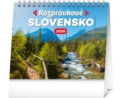 Stolní kalendář Rozprávkové Slovensko 2020 - slovenský
