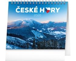 Stolní kalendář České hory 2020