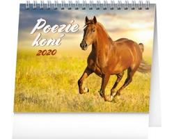 Stolní kalendář Poezie koní 2020