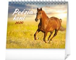 Stolní kalendář Poézia koní 2020 - slovenský