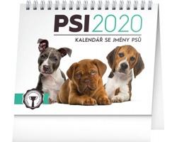 Stolní kalendář Psi - se jmény psů 2020