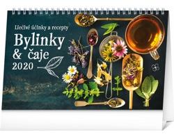 Stolní kalendář Bylinky a čaje 2020 - slovenský