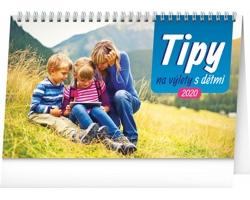 Stolní kalendář Tipy na výlety s dětmi 2020