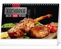 Stolní kalendář Kuchárka (nie)len pre mužov 2020 - slovenský