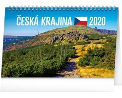Stolní kalendář Česká krajina 2020