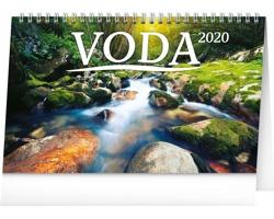 Stolní kalendář Voda 2020 - česko-slovenský