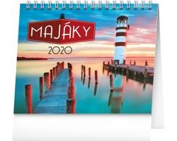 Stolní kalendář Majáky 2020