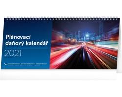 Stolní kalendář Plánovací daňový 2021