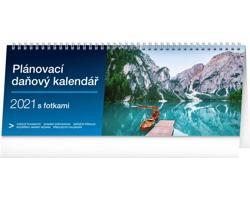 Stolní kalendář Plánovací daňový s fotkami 2021