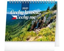 Stolní kalendář Čechy krásné, Čechy mé 2021