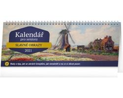 Stolní kalendář Pro seniory 2021