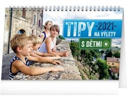 Stolní kalendář Tipy na výlety s dětmi 2021
