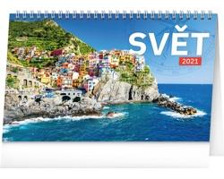 Stolní kalendář Svět 2021