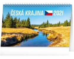 Stolní kalendář Česká krajina 2021