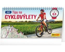 Stolní kalendář Tipy na cyklovýlety 2021