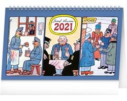 Stolní kalendář Josef Lada - Švejk 2021