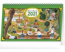 Stolní kalendář Josef Lada - Na vsi 2021