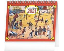 Stolní kalendář Josef Lada - Na poli 2021