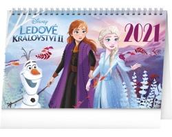 Stolní kalendář Frozen - Ledové království II 2021
