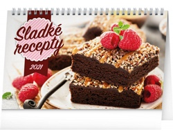 Stolní kalendář Sladké recepty 2021